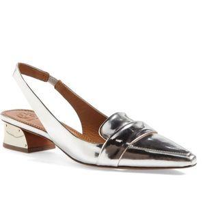 Tory Burch Sadie Metallic Shoes Size 9